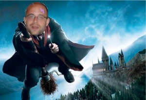 Ben as Harry Potter